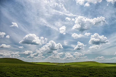 Photograph - Light And Shadows On The Prairie by Scott Bean
