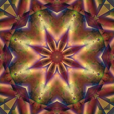 Digital Art - Star Light by Lori Grimmett