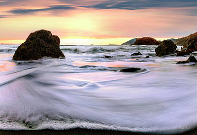 Photograph - Light And Tides by Leland D Howard