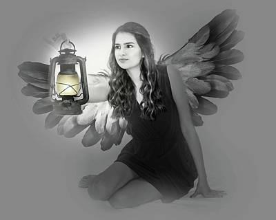 Photograph - Light Angel by Leticia Latocki
