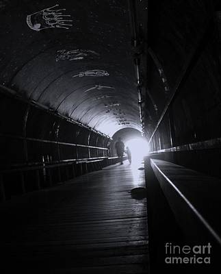 Photograph - Light At End Of Tunnel by Yali Shi
