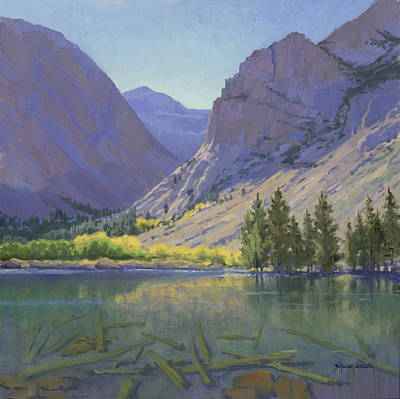 Painting - Light At Parker Lake by Sharon Weaver