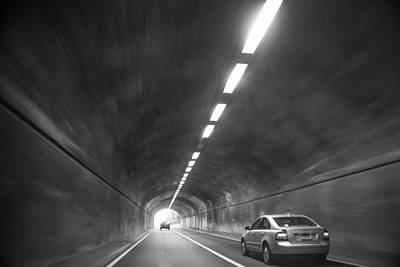 Photograph - Light At The End Of The Tunnel by Karol Livote