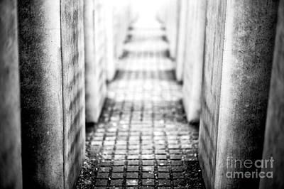 Photograph - Light At The Holocaust Memorial Berlin by John Rizzuto