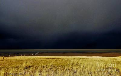 Light Before The Storm Art Print by Michele Penner