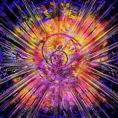 Digital Art - Light Body Activation by Dorothy Berry-Lound