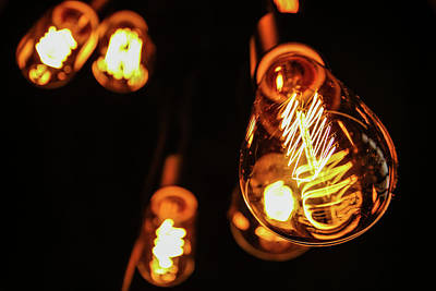 Electronic Photograph - Light Bulb by Hyuntae Kim