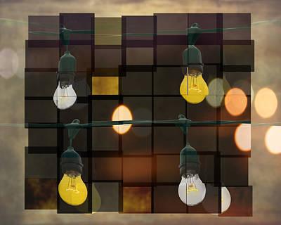 Light Bulbs Art Print