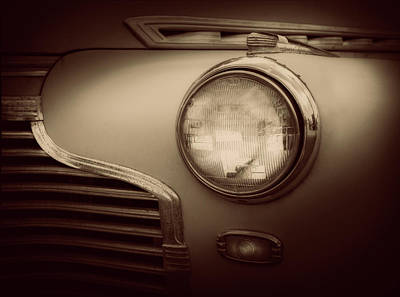Photograph - Light Chev #1 by Jerry Golab