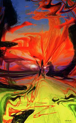 Digital Art - Light Contact by Linda Sannuti