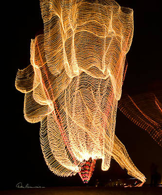 Photograph - Light Dance 2254 by Dan Beauvais