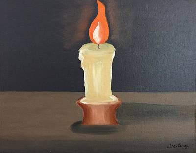 Light Dispels Darkness Art Print by Ramya Sundararajan