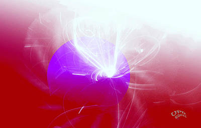 Digital Art - Light Emerging by Ute Posegga-Rudel