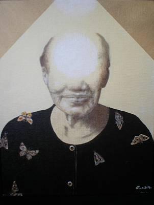 Light Face Print by Jimmy  Ovadia