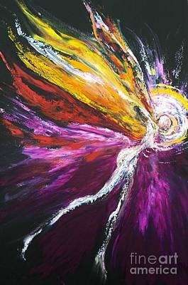 Painting - Light Fairy by Marat Essex