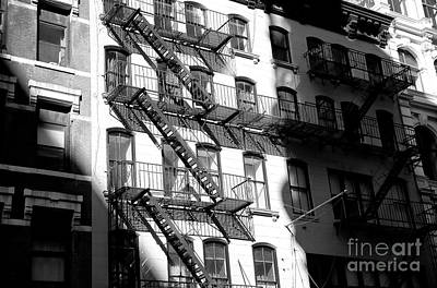 Photograph - Light Falls On Greenwich Village by John Rizzuto