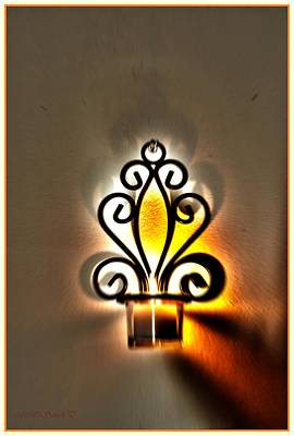 Candle Stand Photograph - Light For New Beginning by Sonali Gangane