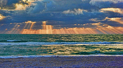 Photograph - Light From Above by HH Photography of Florida