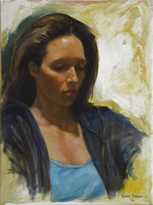 Casual Portraits Painting - Light by Harvie Brown