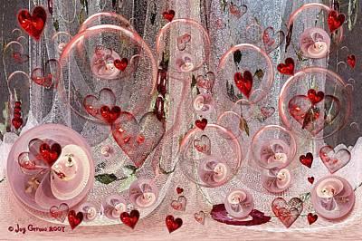 Light Hearted Art Print by Joy Gerow