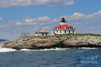 Photograph - Light House Barharbor by Lennie Malvone