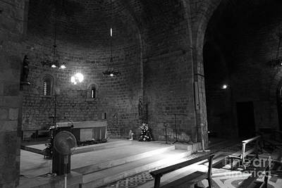Photograph - Light In A Church2 / Barcelona by Karina Plachetka