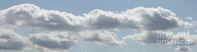 Photograph - Light In Clouds Panorama by Donna L Munro