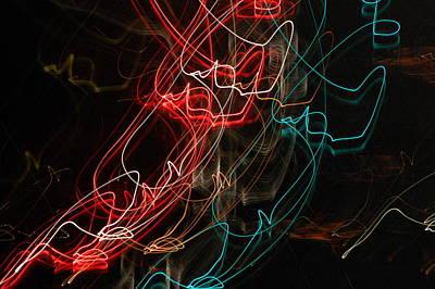 Light In Motion Print by David Lane