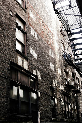 Photograph - Light In The Alley by Marilyn Hunt