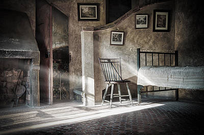 Mercer Tile Photograph - Light In The Bedroom by Marzena Grabczynska Lorenc