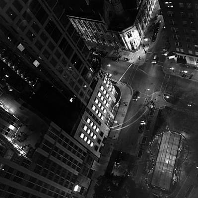 Photograph - Light In The City 1 by Carrie Godwin