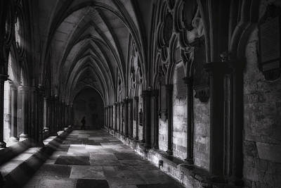 Arch Photograph - Light In The Corridor by Andrew Soundarajan