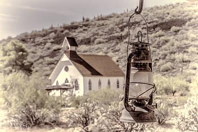 Photograph - Light In The Desert  by HW Kateley