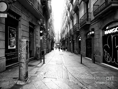 Photograph - Light In The Gothic Quarter by John Rizzuto