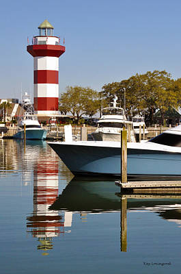 Light In The Harbor Art Print by Kay Lovingood