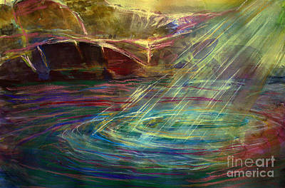 Light In Water Art Print