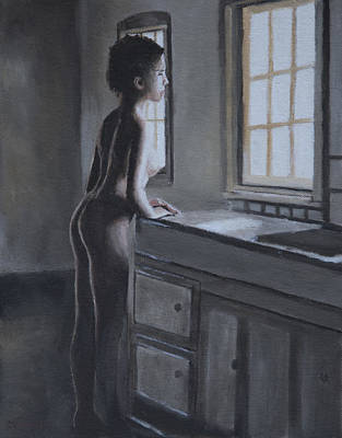 Painting - Light Into The Kitchen by Masami Iida