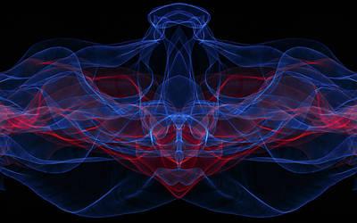 Light Motion Series 4 Art Print by Nathan Larson