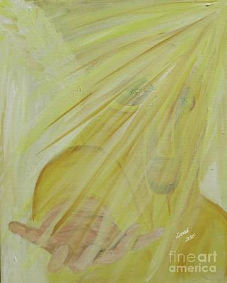 Light Of God Enfold Me Art Print