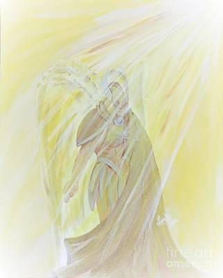 Painting - Light Of God Surround Us by Lorah Buchanan
