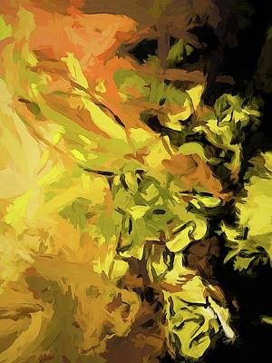 Digital Art - Light Of Gold by Jackie VanO
