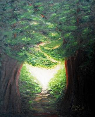 Painting - Light Of Hope by Natascha de la Court