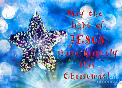 Photograph - Light Of Jesus by Jean OKeeffe Macro Abundance Art