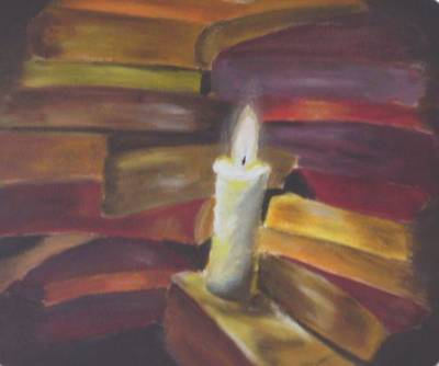 Light Of Knowledge Original by Alina Lucasciuc