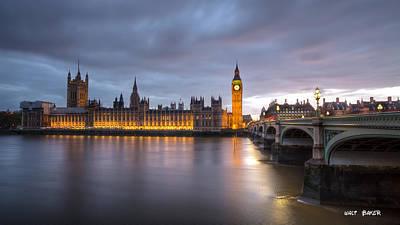 Photograph - Classic London by Walt  Baker