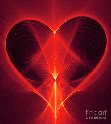 Digital Art - Light Of Love by Ray Shrewsberry