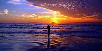 Topsail Island Photograph - Light Of My Life by Betsy Knapp