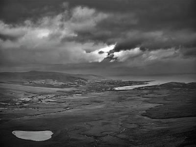 Photograph - Light Of Myth Bw. by Leif Sohlman