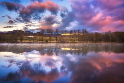 Light Of The Lake Print by Darren  White