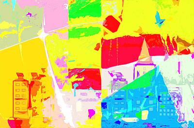 Digital Art - Light Of The World Five by Payet Emmanuel